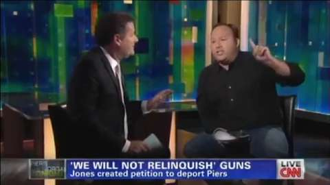 Alex Jones on Piers Morgan