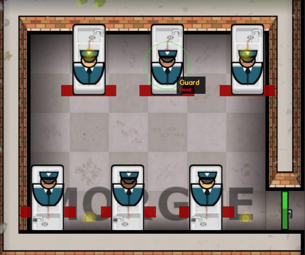 Prison Architect Review - Morgue