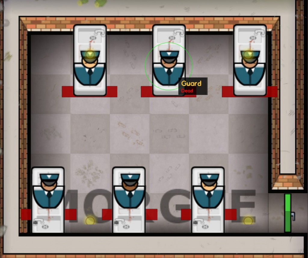 Prison Architect Review - Morgue