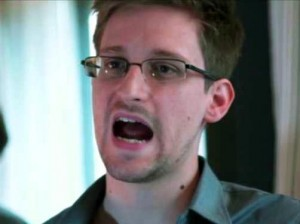 "Snowden flew into a rage at the lack of response to recent NSA revelations and said he would ""cut to the chase."""