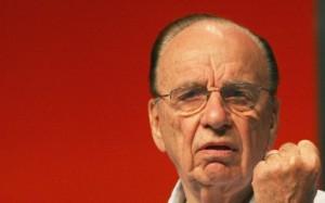 Rupert Murdoch looking evil as fuck