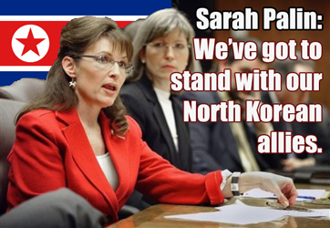 Sarah Palin on North Korea