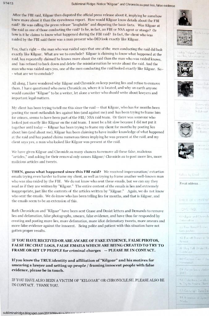 Basko Threatens the Chronicle [Part 2]