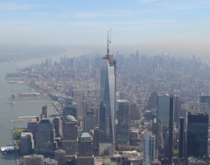 The world's number one terror target, the 1,776 foot tall Freedom Tower, fell after terrorists carefully laced the interior structure with nanothermite.