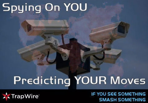 Trapwire is watching you