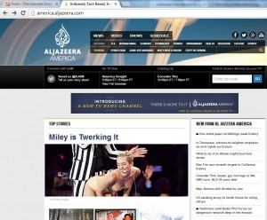 Domestic Extremists: Al Jazeera America's Coverage is Covering up the Truth about Syria