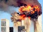 twin towers explosion