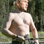 Vladimir Bush is an adept fisherman
