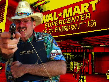 Survivalist calls Wal-Mart